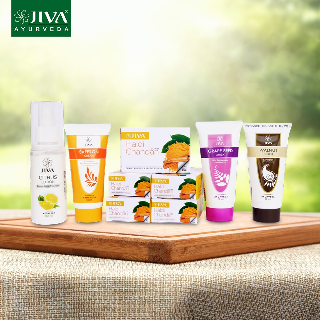 BEST COMBO | Ayurvedic Skin Care Gift Pack at Rs.463