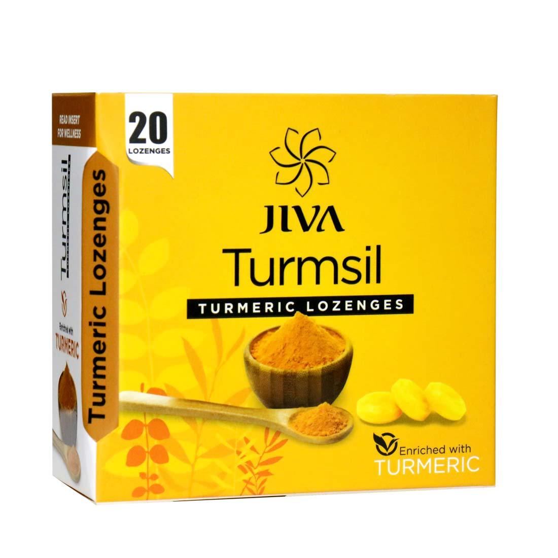 Jiva Store - Turmsil-Turmeric Lozenges