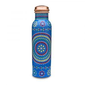 Jiva Store - Designed Copper Bottle