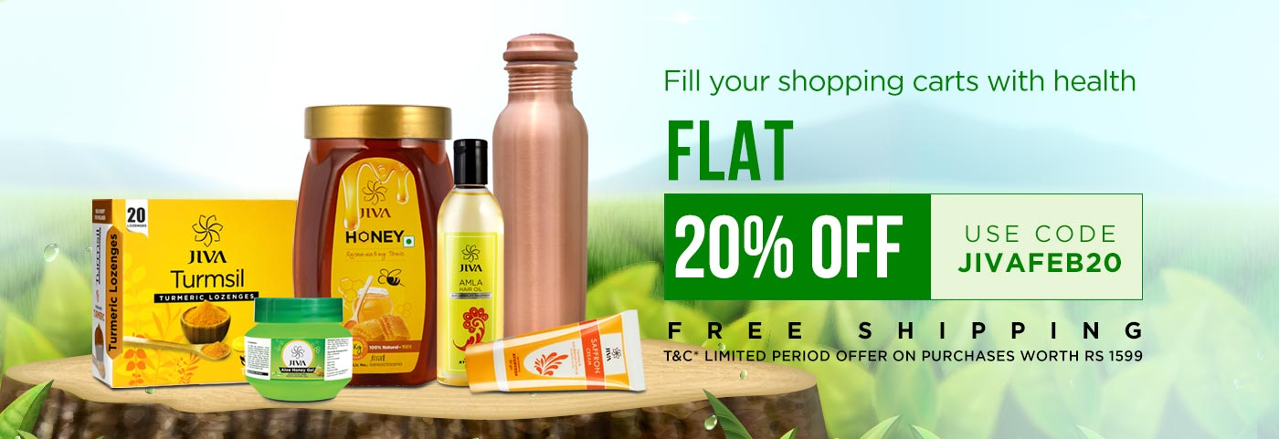 Flat 20% Off on Orders of Rs.1599 + FREE SHPPING