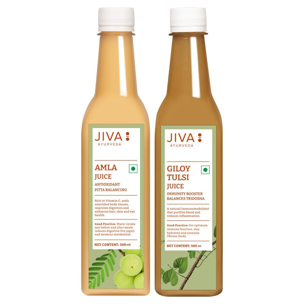 Jiva Store - Amla Juice/Giloy Tulsi Juice