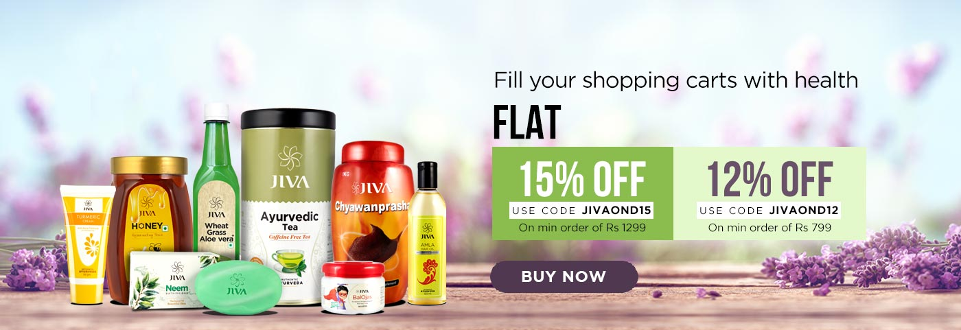 Coupon Code for Jiva Ayurveda