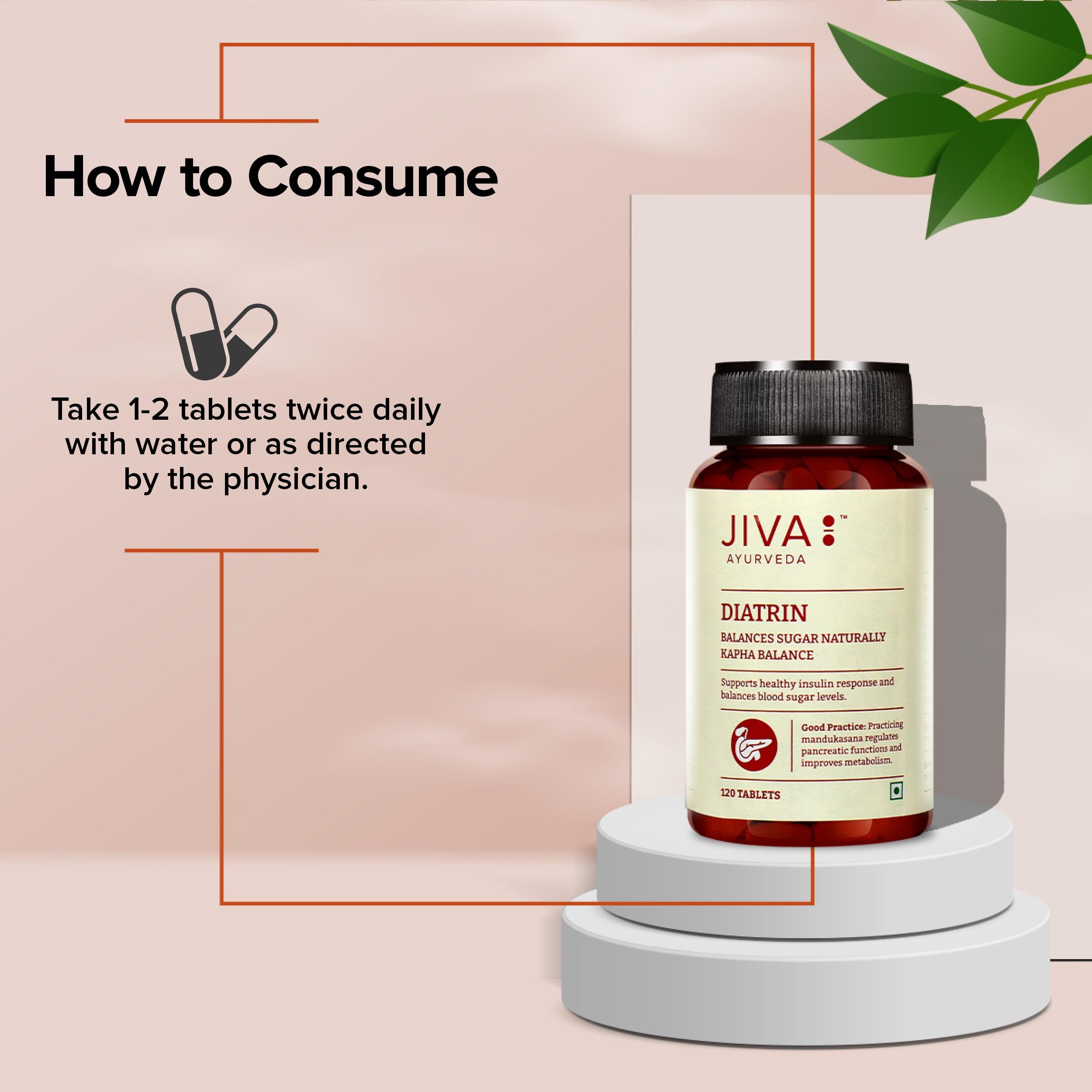 Jiva Store - Diatrin-How to Consume