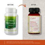 Jiva Ayurveda Triphala - before & after