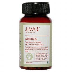 Benefits of Jiva Ayurveda Arjuna tablets