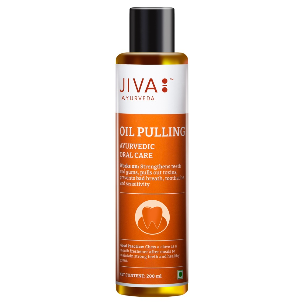Jiva Ayurveda Oil Pulling for teeth
