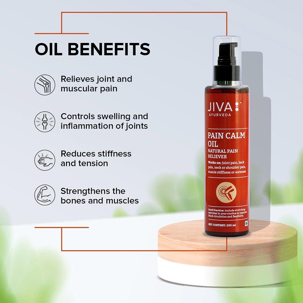 benefits of Jiva pain calm oil