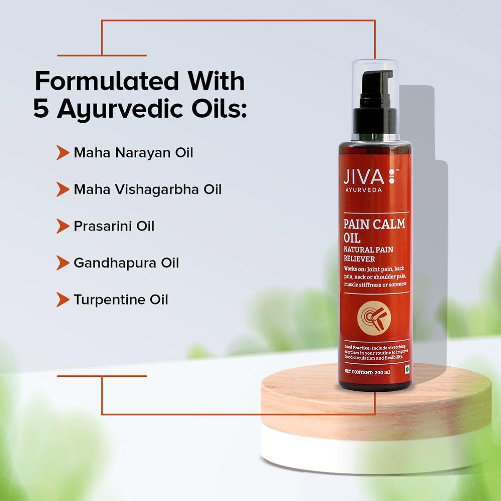 Jiva Store - Pain Calm Oil