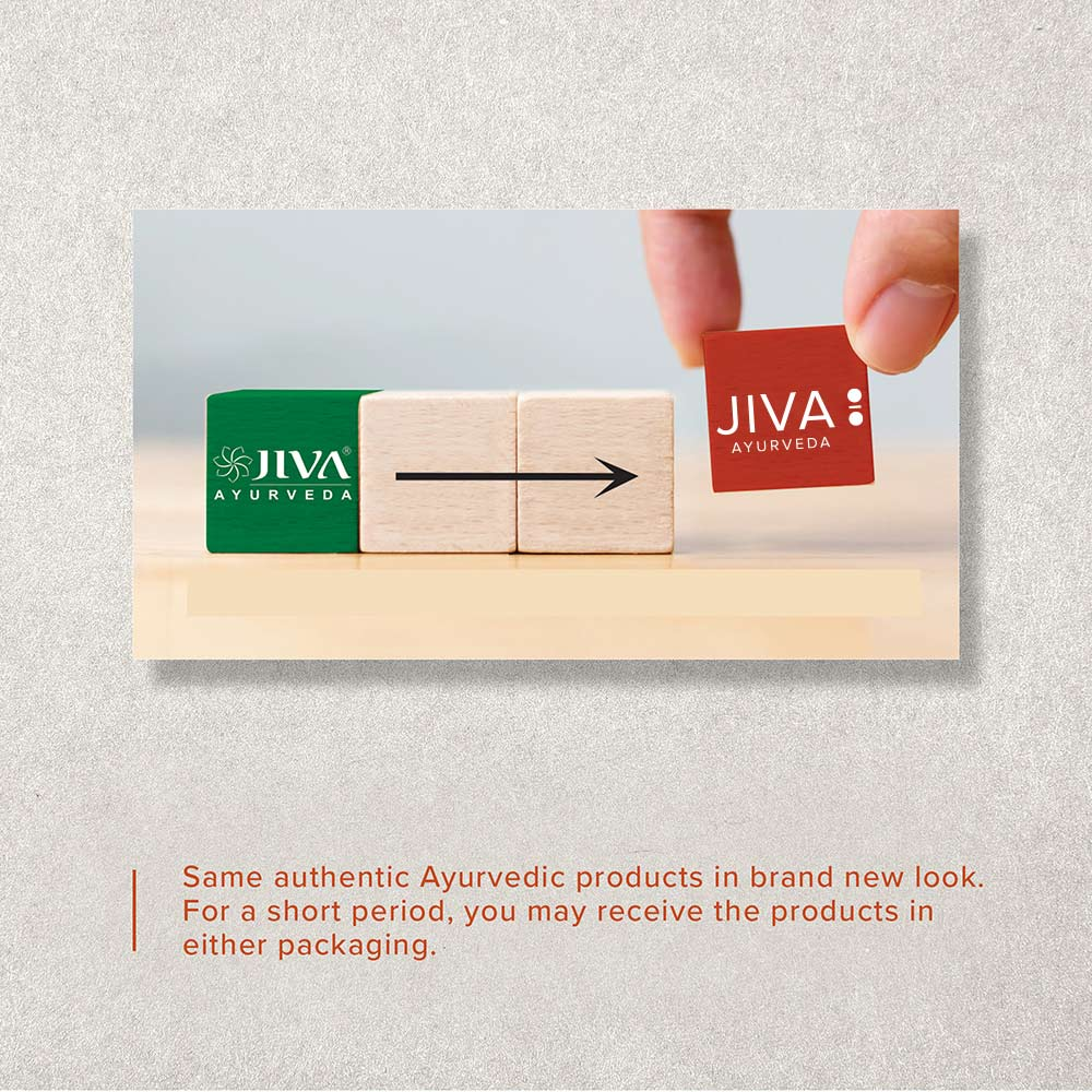 Bookmarking jiva ayurveda rebranding