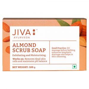Jiva Store - Almond Scrub Soap