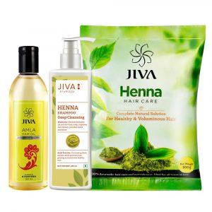 Ayurvedic hair care combo pack