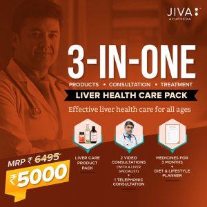 Jiva liver health care pack